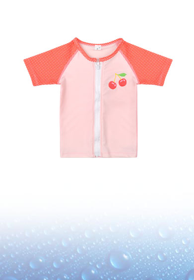 SHORT SLEEVES RASH SHIRT FOR GIRL